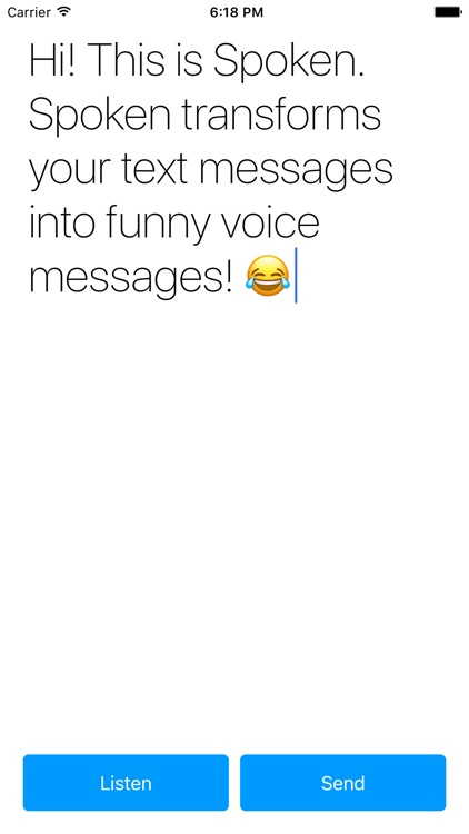 Spoken - Voice messages screenshot-0