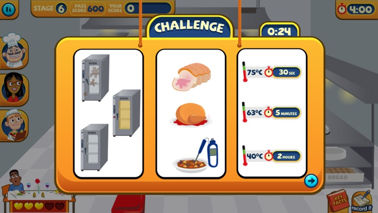 A Game to Train Food Safety screenshot-3