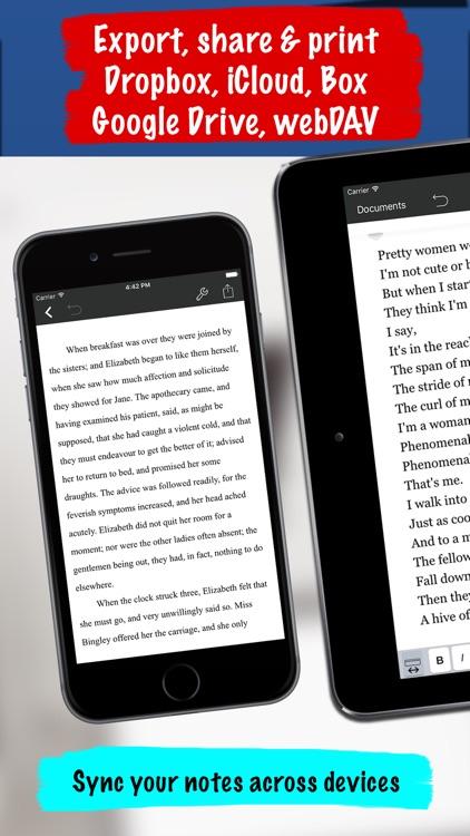 Notes Writer screenshot-4