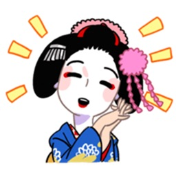 Maiko 3 stickers for iMessage