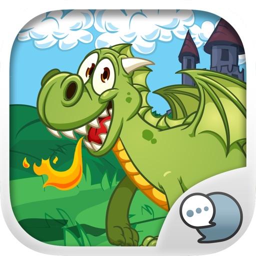 Dragon Emoji Stickers Keyboard Themes ChatStick