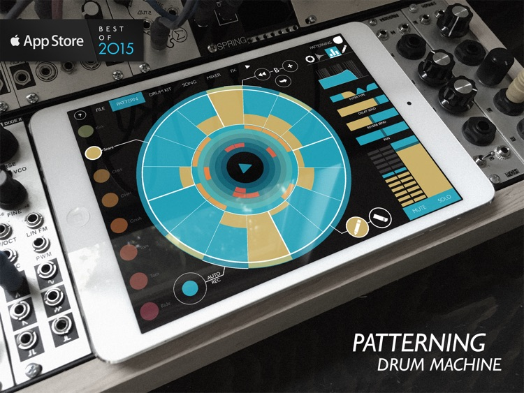 Patterning : Drum Machine screenshot-0