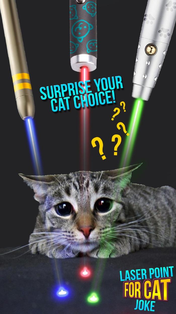 Laser Point For Cat Joke Screenshot