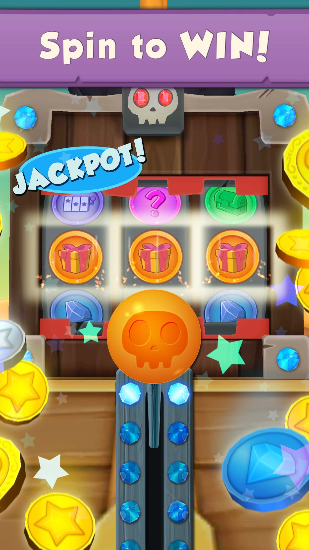 Coin Dozer: Pirates Screenshot