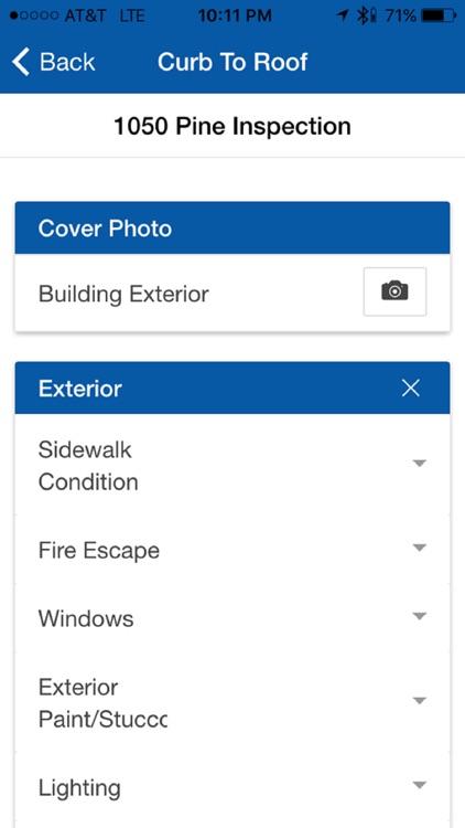 Structure Properties Inspection App