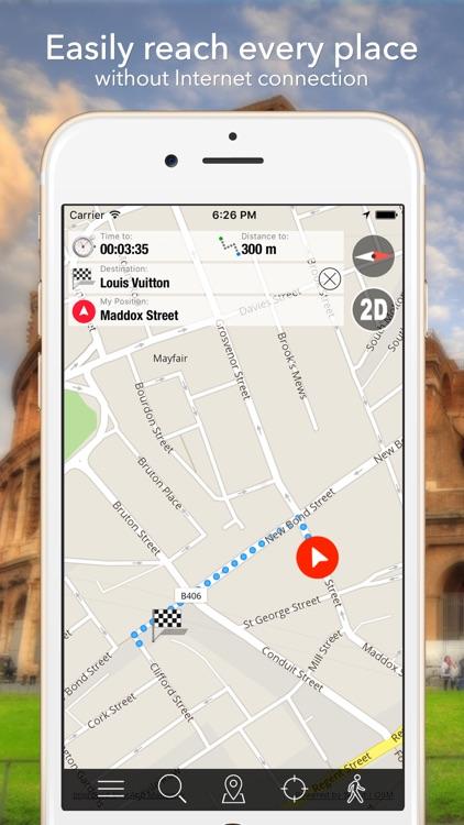 Brussels Offline Map Navigator and Guide screenshot-3