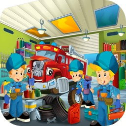 Emergency Rescue Parking! Fire Truck Games For Kid