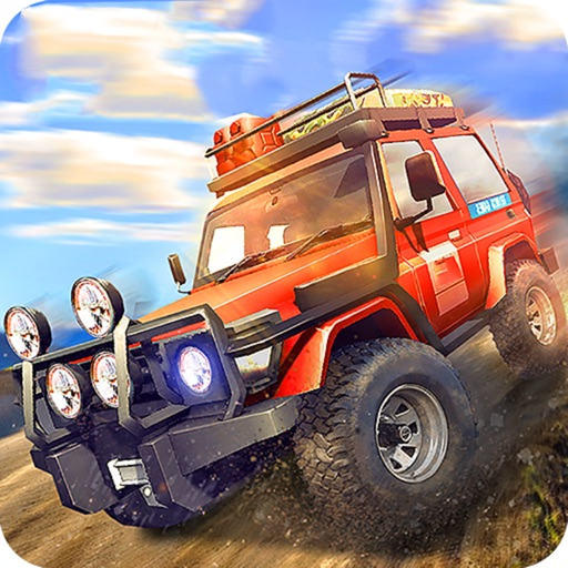 Off-Road Up-Hill Climb Jeep Simulator : 3D Drive