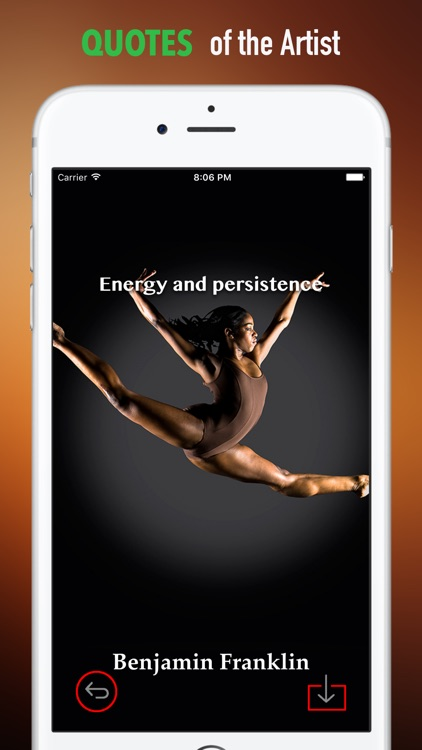 Gymnastics Wallpapers HD: Quotes with Art screenshot-3