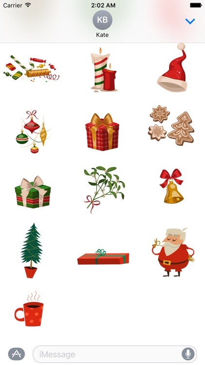 Christmas Day Stickers