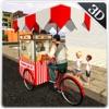 爆米花小贩3D模拟 - 城市送货员
