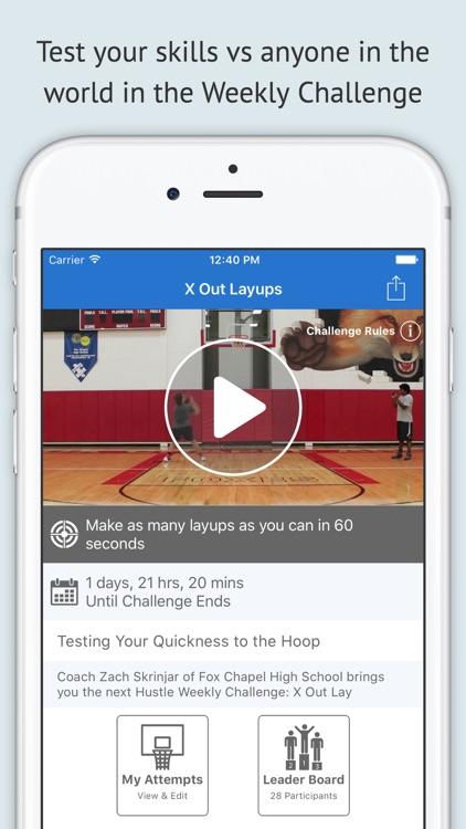 Hustle - Basketball Drills for Coaching & Training screenshot-3