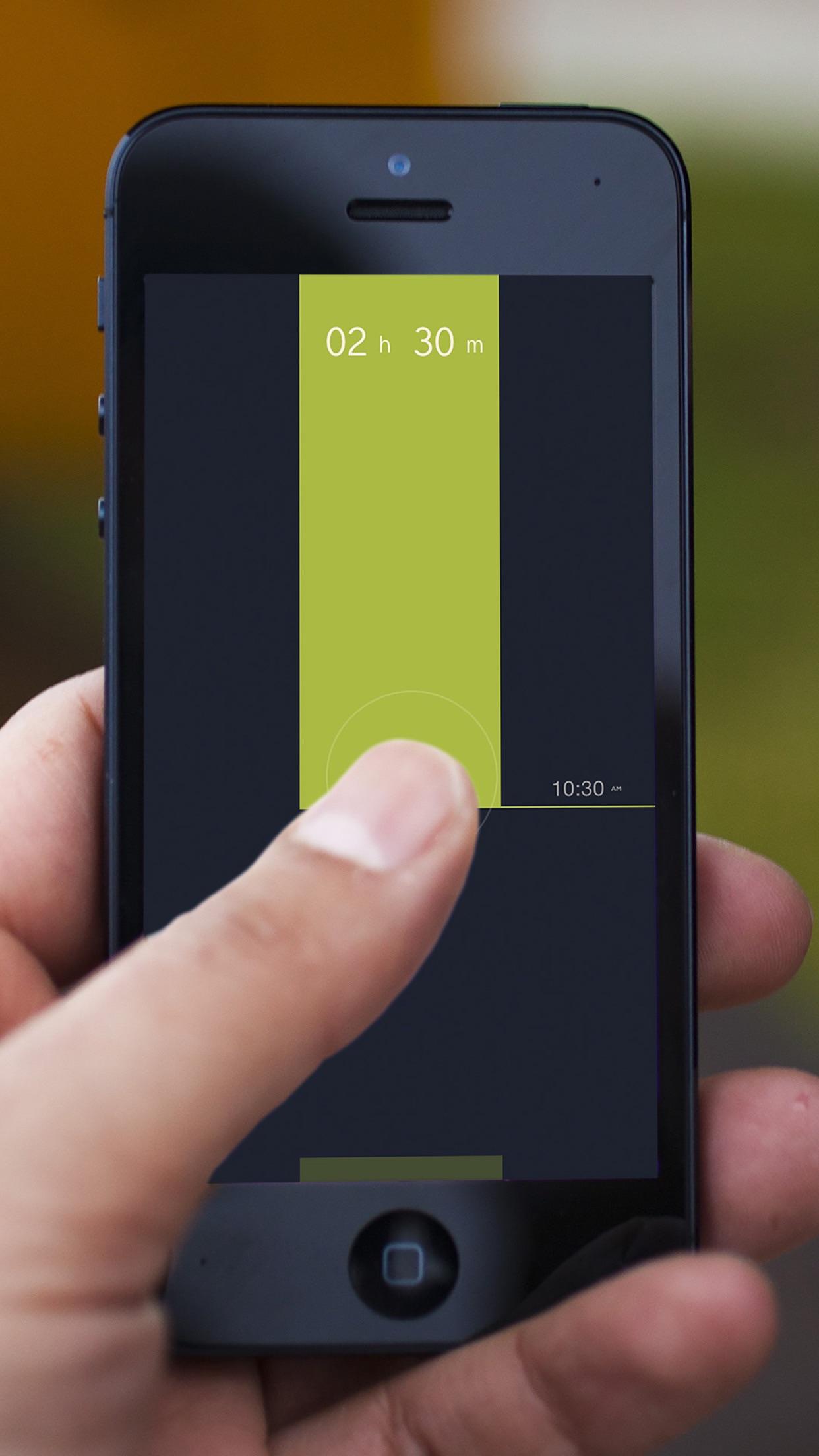 Screenshot do app Peek Calendar - Simples e Minimalista