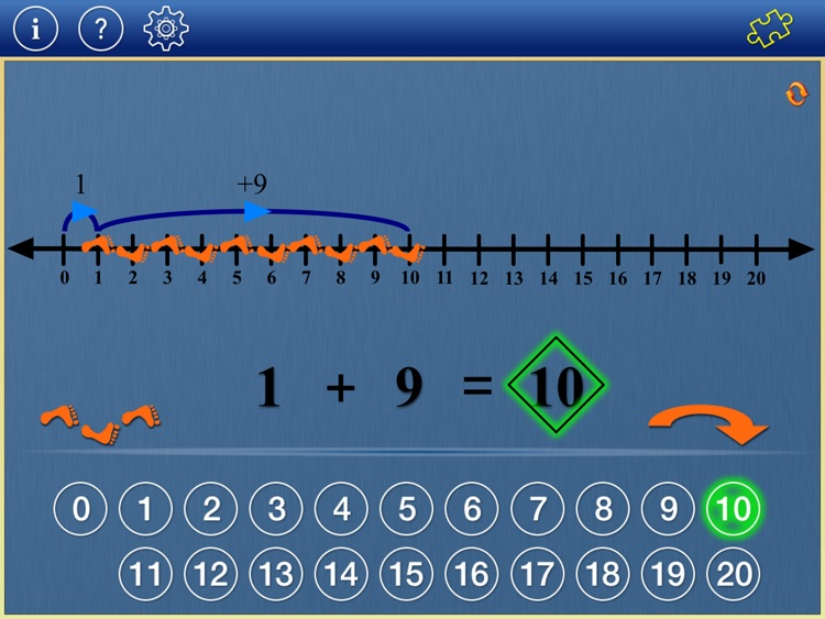 Number Line Math K2 screenshot-1
