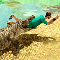 Activities of Crocodile kill wild monster simulator 2016