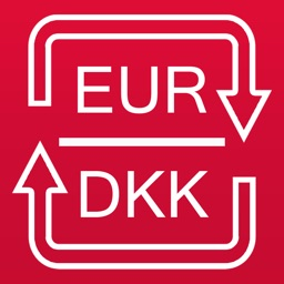 Euro to Danish Krone currency converter