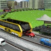 China City Elevated Bus Driving 3D Simulator Game