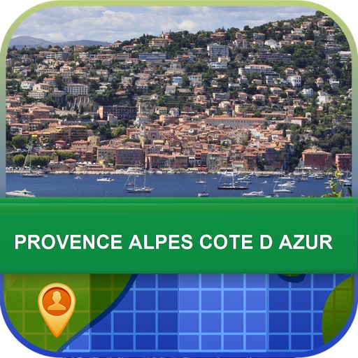 Provence Alpes Cote D Azur Map - World Offline Maps