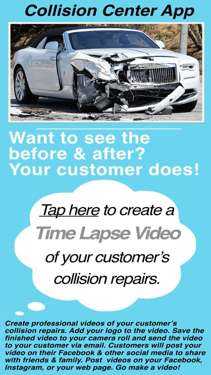Collision Center Before & After