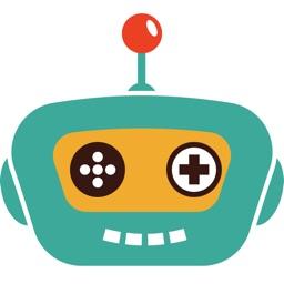 Robot Stickers - Beep Boop