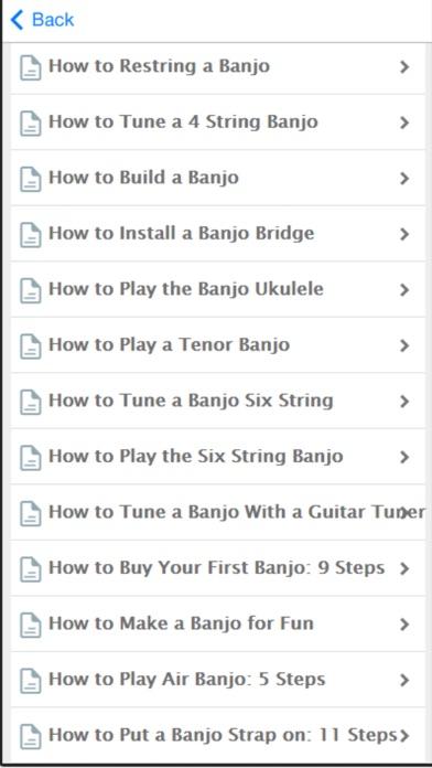 Banjo - Learn How To Play Banjo Easily screenshot two