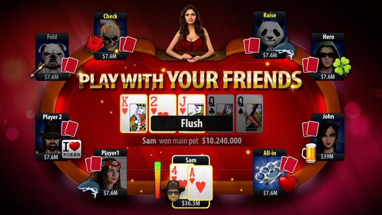 Classic Poker - Texas Holdem screenshot-2