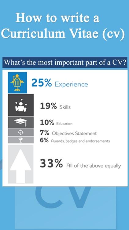 How To Create A CV - Resume Design screenshot-3