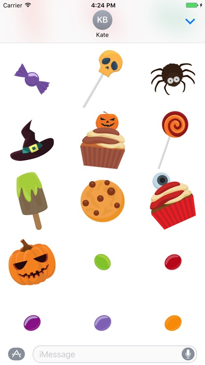 Halloween Ghosts Stickers