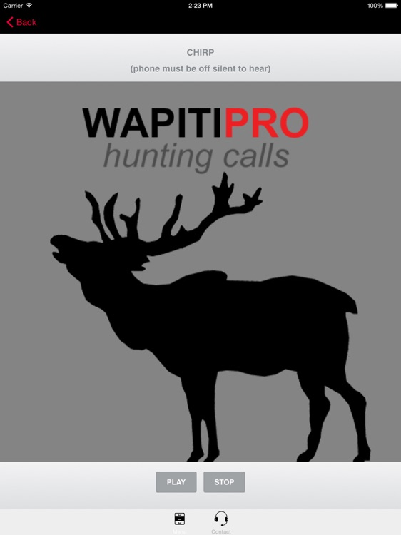 REAL Wapiti Calls for Hunting + BLUETOOTH COMPATIBLE screenshot-2