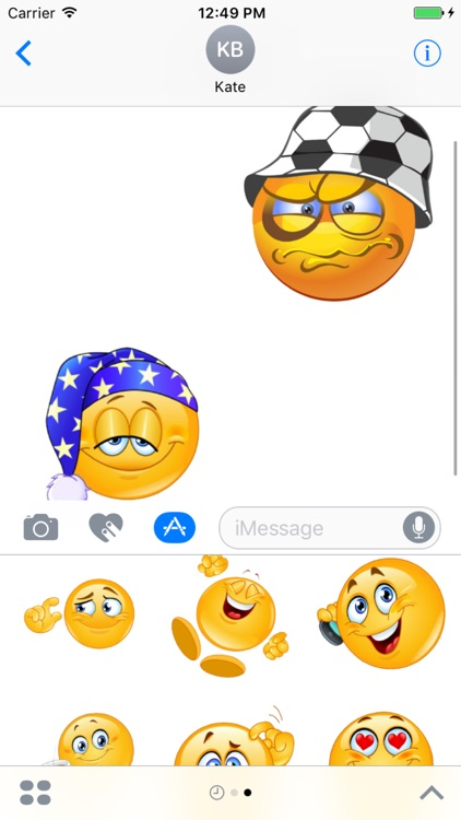 Emoji Stickers Box