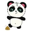 Kute Panda Sticker