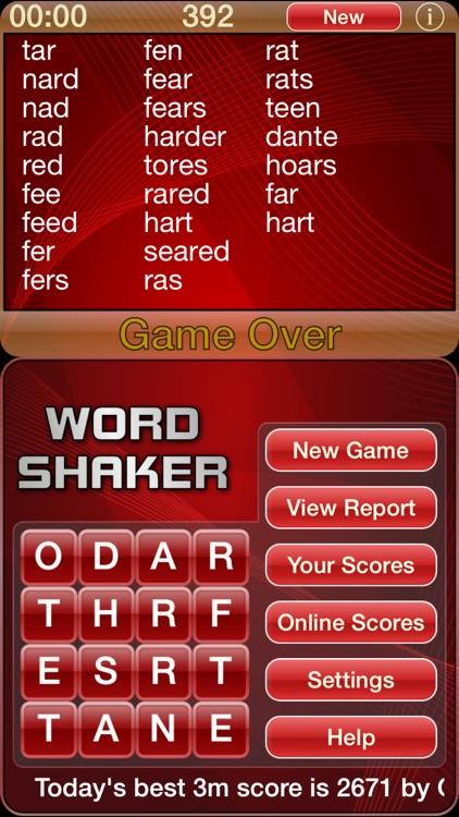 Word Shaker