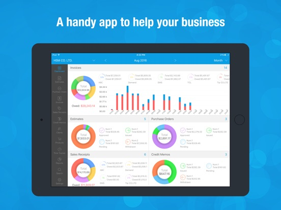 Invoice Wiz Pro Invoices Maker And Time Tracking App Price Drops - Invoice tracking app