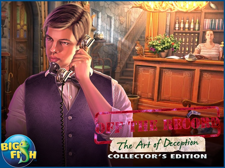 Off The Record: The Art of Deception HD - A Hidden Object Mystery (Full) screenshot-4