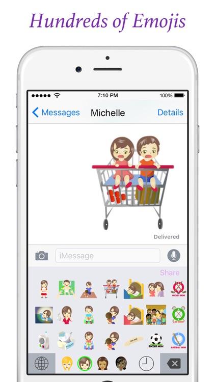 Mommyoji - Emoji Keyboard For Moms