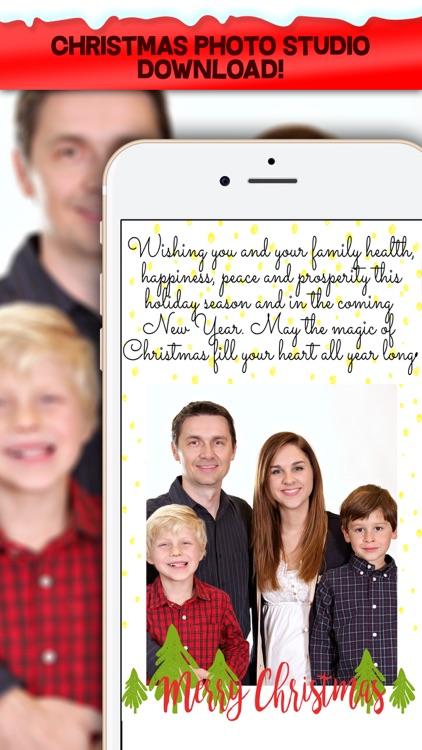 Christmas Cards Maker - Personalize your Xmas Card screenshot-4
