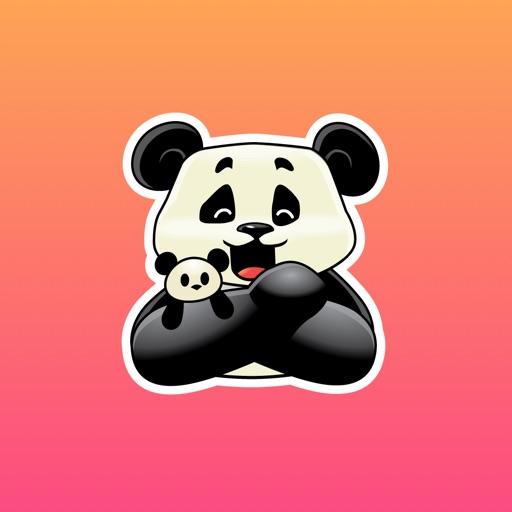 Panda Rob Sticker Pack