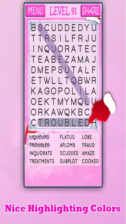 Christmas Word Search Ultimate screenshot-4