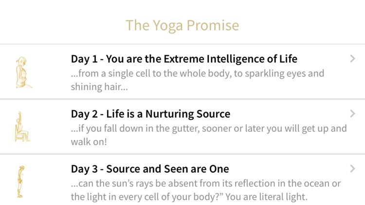 The Yoga Promise