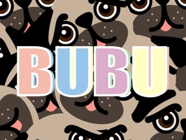 Meet BUBU Pug, the cutest and funniest pug in the AppStore