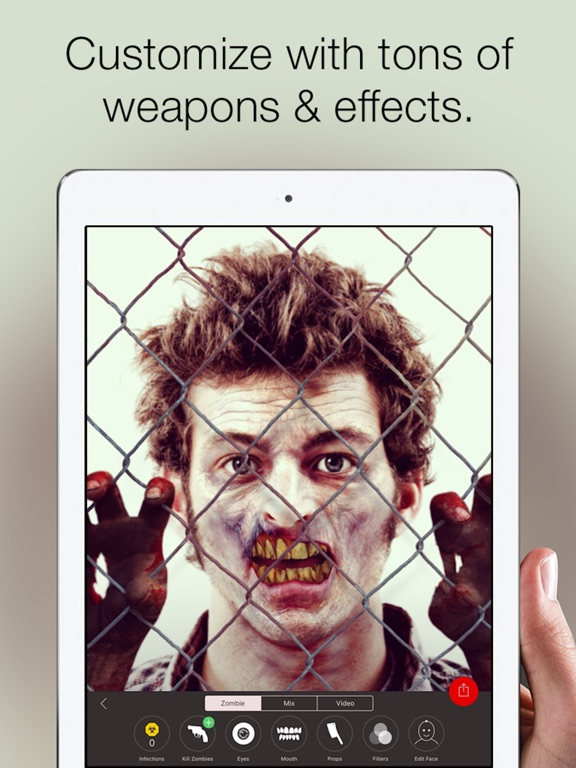 Zombify - Turn into a Zombie Screenshots