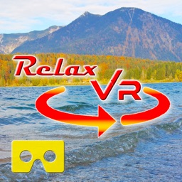 Relax VR Lake in Autumn Virtual Reality 360