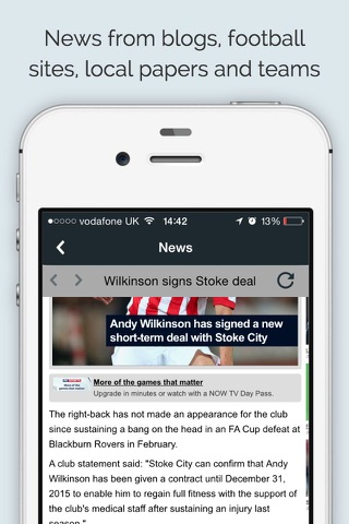 Sport RightNow - Stoke Edition - náhled
