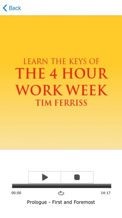 The 4 Hour Work Week by Tim Ferriss Meditations Audiobook screenshot-3