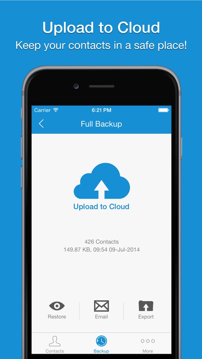 Easy Backup Pro . Screenshot