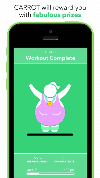 CARROT Fit screenshot-3