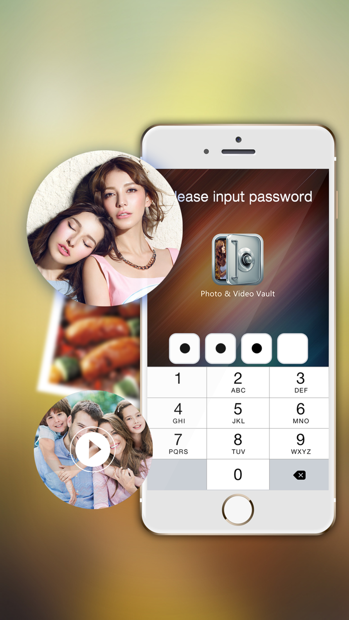 Lock Secret Photo - Safe Foto Password Vault App Screenshot