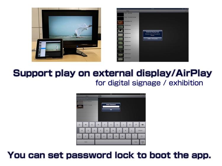 LoopVideoPlayer forVJ,signage screenshot-3