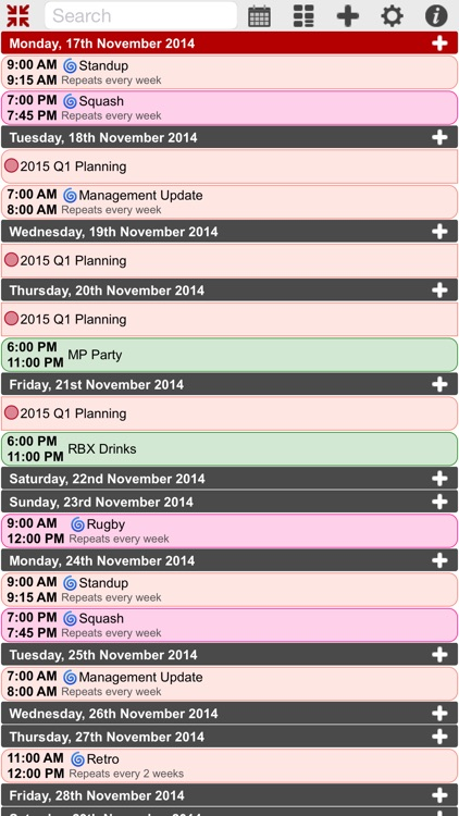 myCal PRO: Calendar & Event Organizer screenshot-3