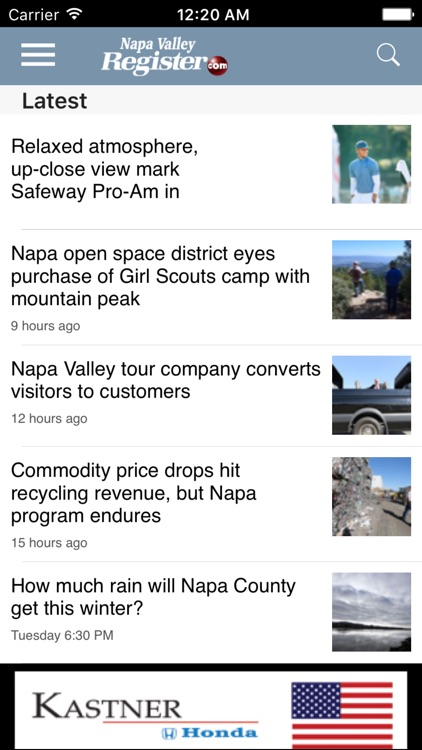 Napa Valley Register: Local news for Napa, CA